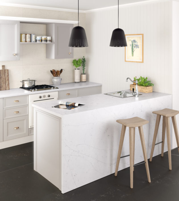 Silestone-Kitchen-Eternal-Statuario